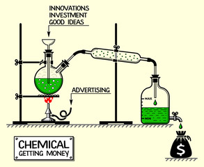 Chemical getting money