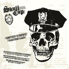 Skull Cop