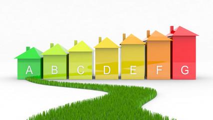 efficienza energetica con strada verde