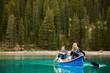 Couple Portrait in Canoe