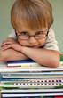 Junge mit der Brille