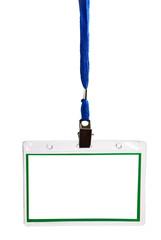card empty ID badge