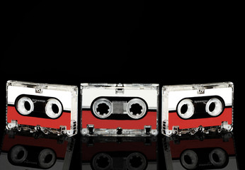 Tapes with reflection