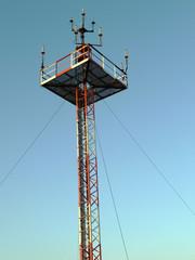 Sendemast und Antenne