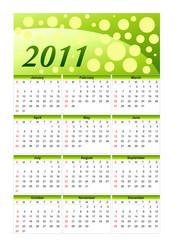 Green Calendar 2011