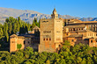 Alhambra at sunset