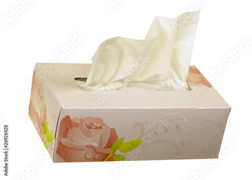 Facial Tissues Angle View