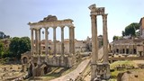 Ruins of Ancient Rome - view from the Campidoglio.
