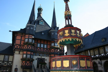 Town hall and Marketplace in Wernigerode