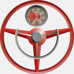 volante años cincuenta