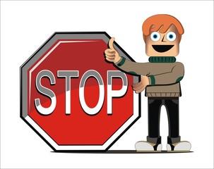 Hombre_stop