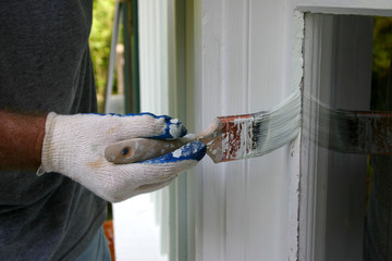 Painting Around House Windows