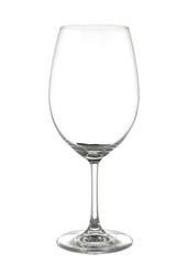 Rotweinglas leer