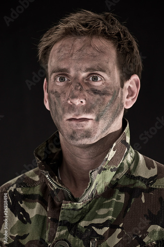 Soldier portrait