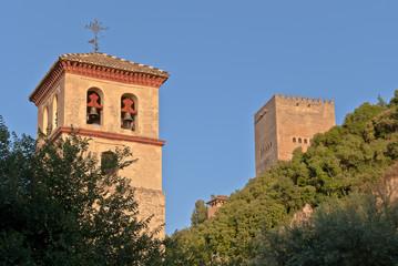 Iglesia de San Pedro y San Pablo y Torre de Comares