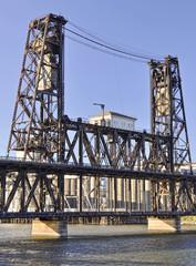 steel bridge in portland oregon