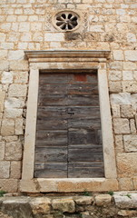 Ancient door (Croatia)