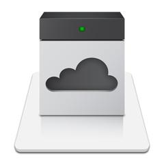 Online Cloud Storage Icon