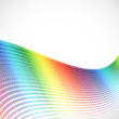 abstract spectrum halftone background