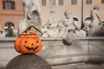 Zucca di Halloween a Roma