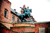 monument Tadeusz Kosciuszko on Wawel hill in Cracow (Poland) poster