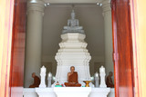 Buddha image in Chedi Mahamongkol Bua, Roi-et poster