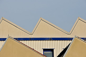 Produktionshalle Dachgiebel