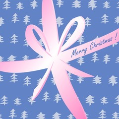Christmas gift-greeting card