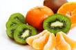 Mandarine & Kiwi - Fruchtmix Mandarinen- und Kiwis