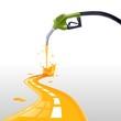benzina che fa strada