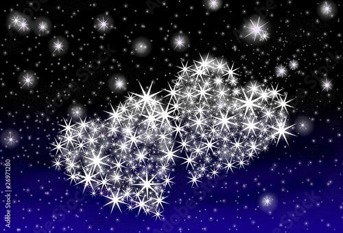valentins nachthimmel stockfotos und lizenzfreie bilder auf bild 26971280. Black Bedroom Furniture Sets. Home Design Ideas