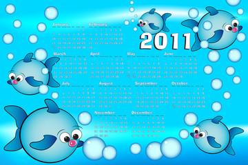 2011 Kid Calendar