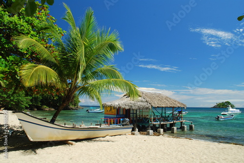 Fotobehang Centraal-Amerika Landen Mer des Caraïbes