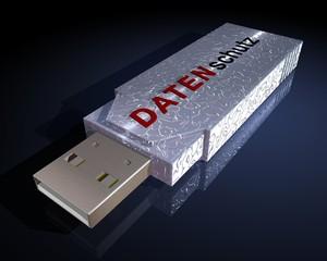 USB stick - Datenschutz