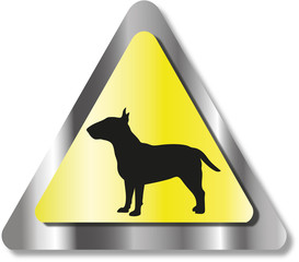 Bad dog sign