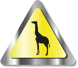 Giraffe sign