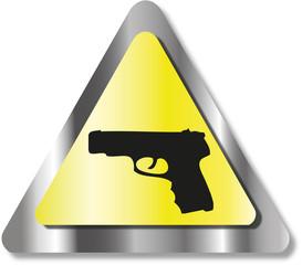Gun sign