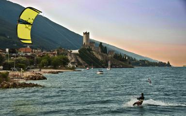 Kite a Malcesine sul Garda