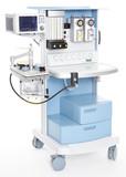 Modern medical emergency oxygen regulator poster