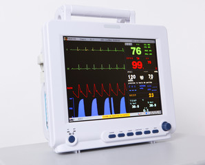 Health care portable monitoring equipment