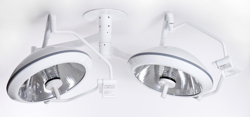 Modern adjustable precision surgery lamp