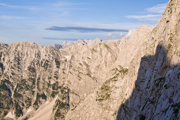 julian alps in the summer, slovenia