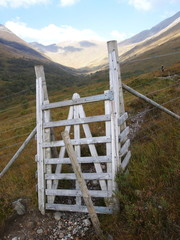 Gate to the mountains