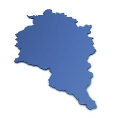 Karte von Vorarlberg