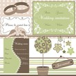Wedding elements, vector