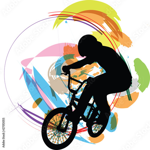biker illustration