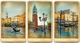 beautiful romantic Venice- retro cards