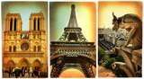 Parisian  - vintage cards series