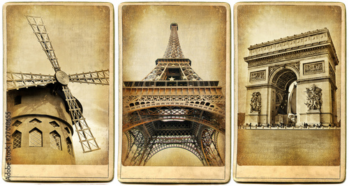 Paris -  vintage photoalbum series