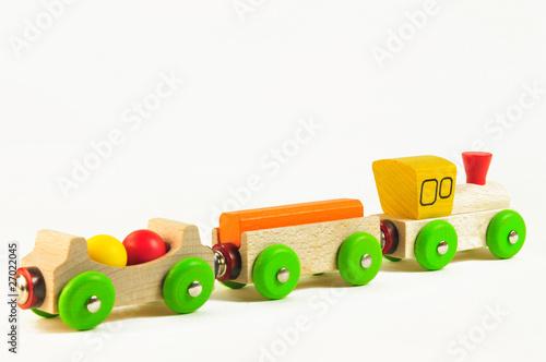 holzzug kinderspielzeug aus holz von stefan gr f lizenzfreies foto 27022045 auf. Black Bedroom Furniture Sets. Home Design Ideas